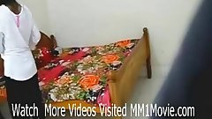 Indian lovers hardcore sex scandal in dorm room leaked (MM1Movie.com)